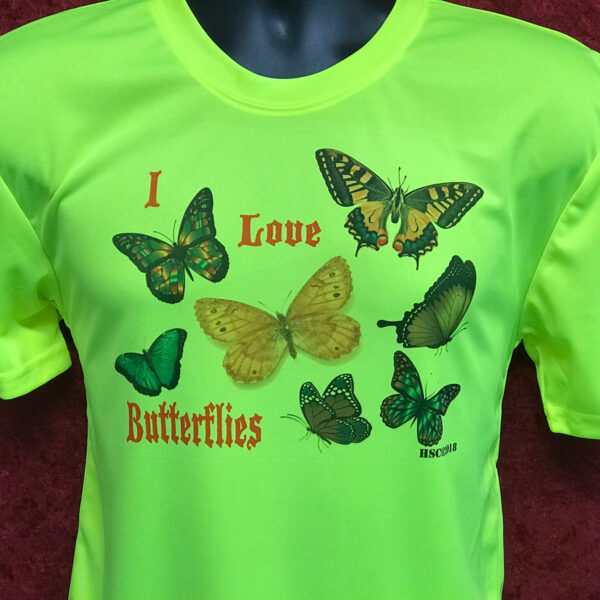 I Love Butterfies Trigily #1