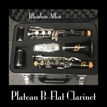 Rheuben allen Plateau Clarinet Banner 1