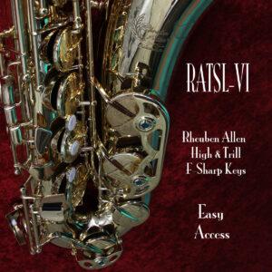 RATSL-Vi Reuben Allen Tenot Sax Trill and High F-Sharp Keys
