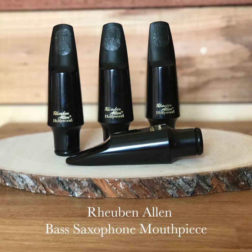 Rheuben Allen Hard Rubber Bass Saxophone Mouthpiece