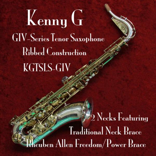 Keny G GIV Tenor Saxophone Banner 1