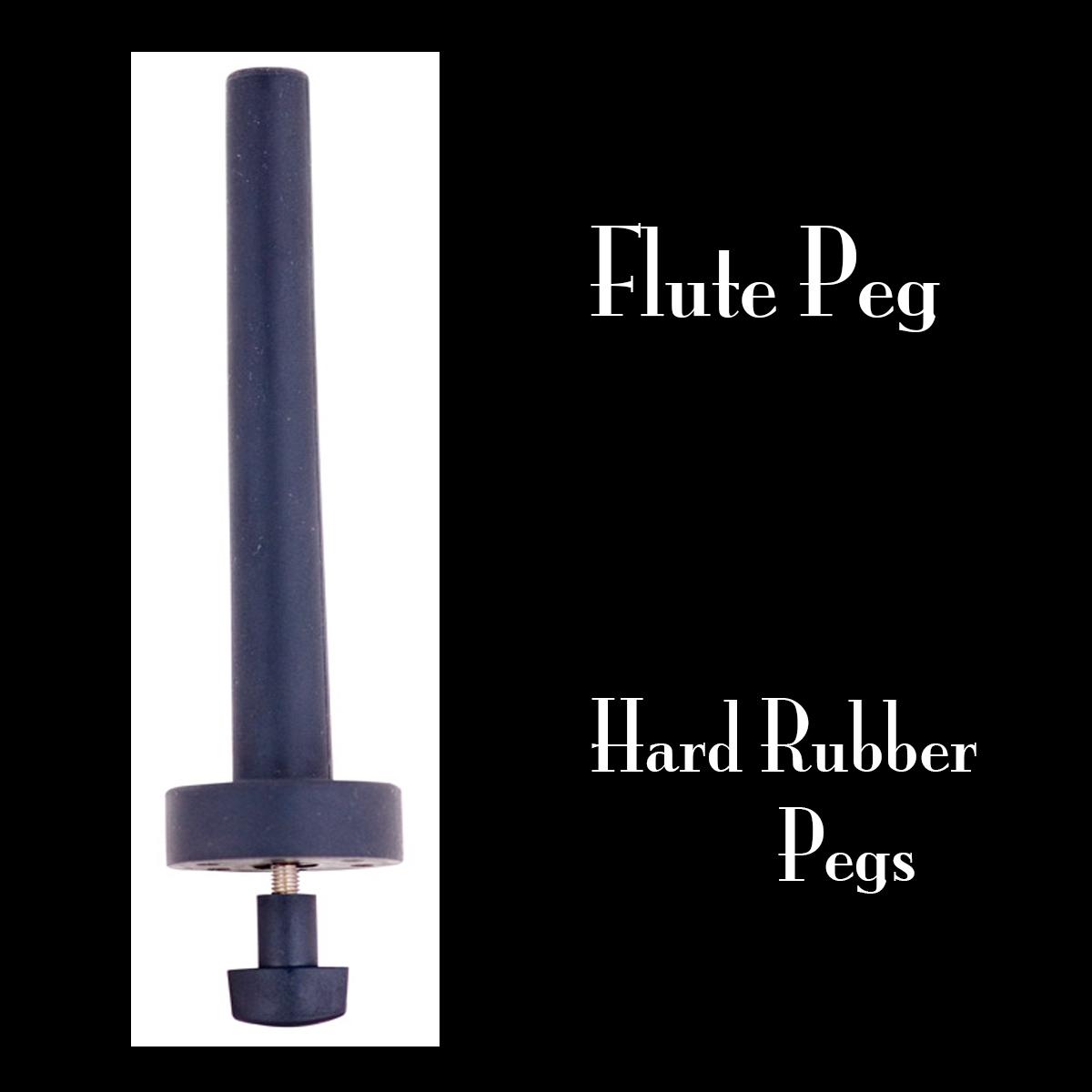 Hard Rubber flute Peg for C Flute