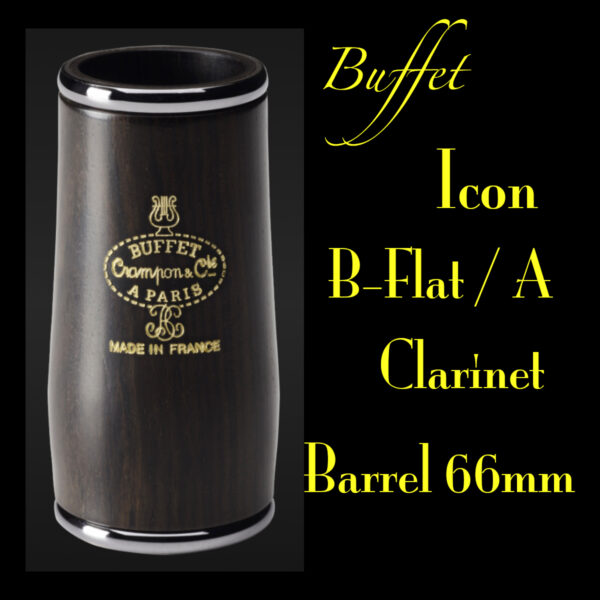 Buffet Icon Clarinet Barrels Banner 1