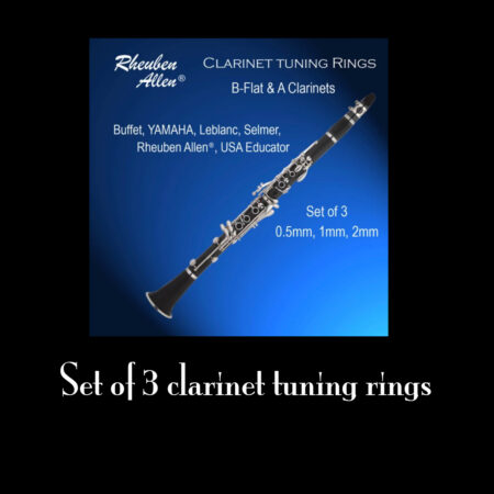 TRheuben Allen Clarinet Tuning rings 1.0