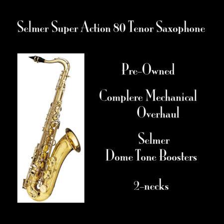 Selmer Super Action 80 Tenor Saxophone