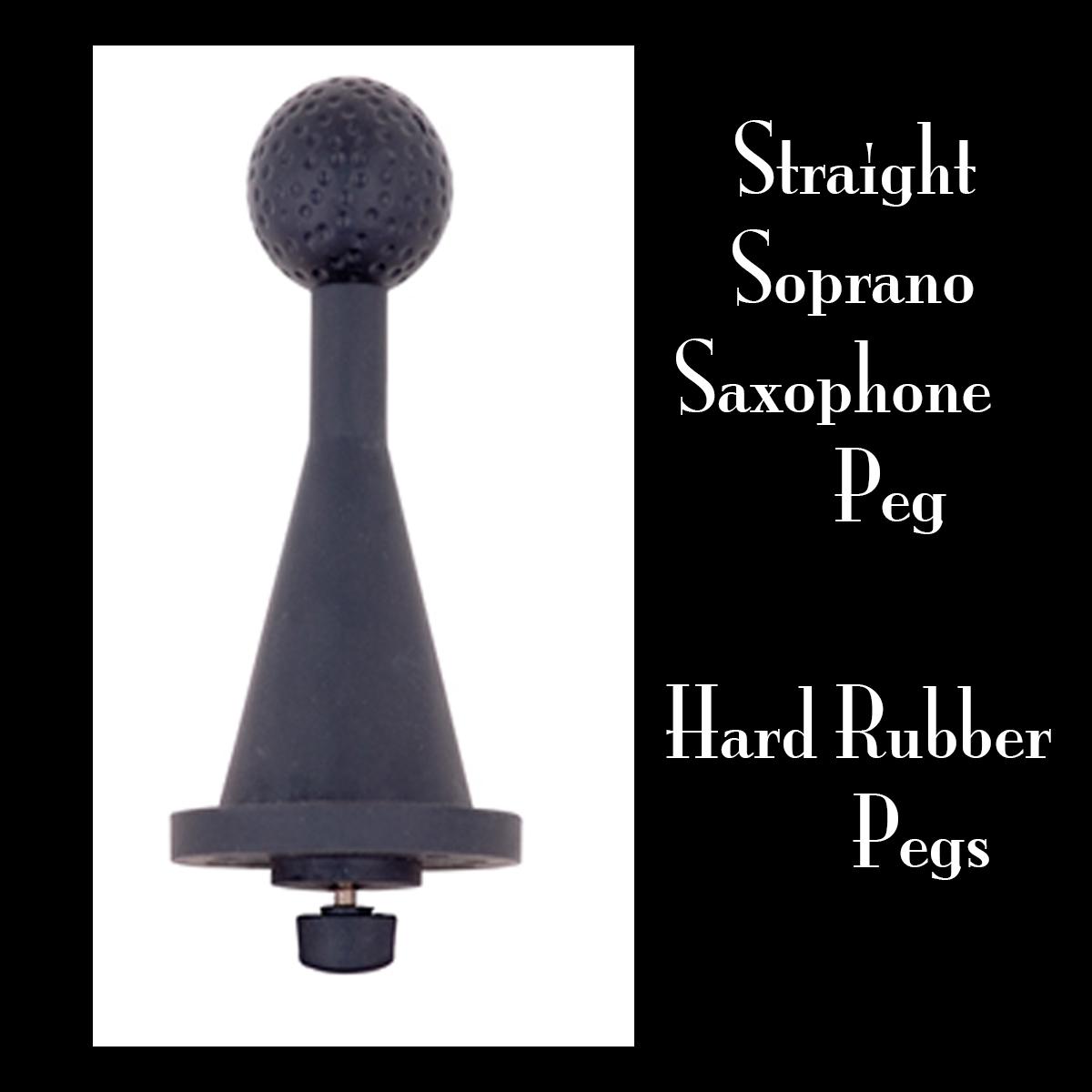Straight Soprano Saxophone Peg