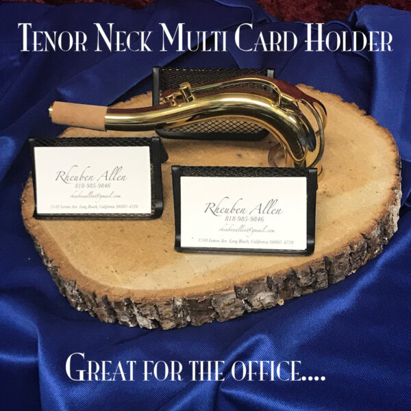 Tenor Saxophone Neck Multi Card Holder N109
