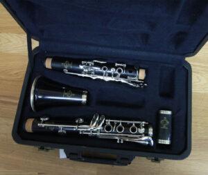 Buffet B-Flat Clarinet Open Case 1