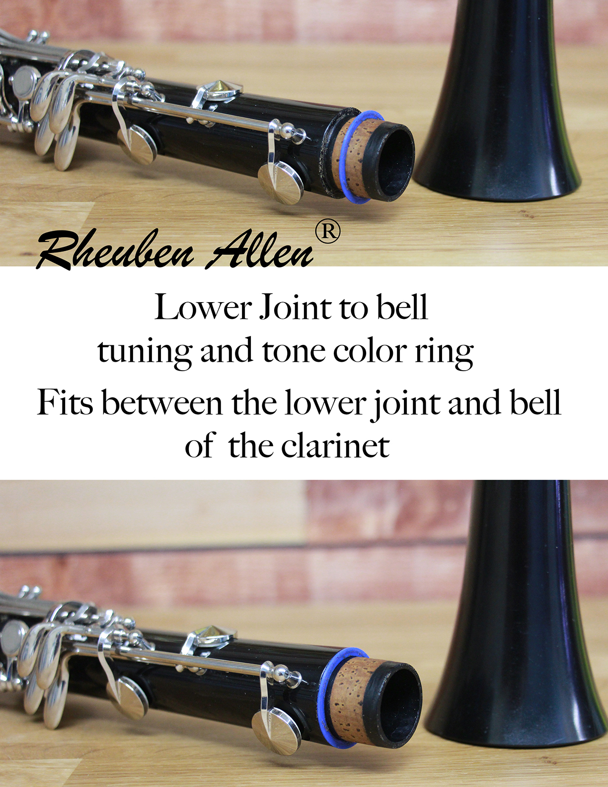 Clarinet Bell tuning ring