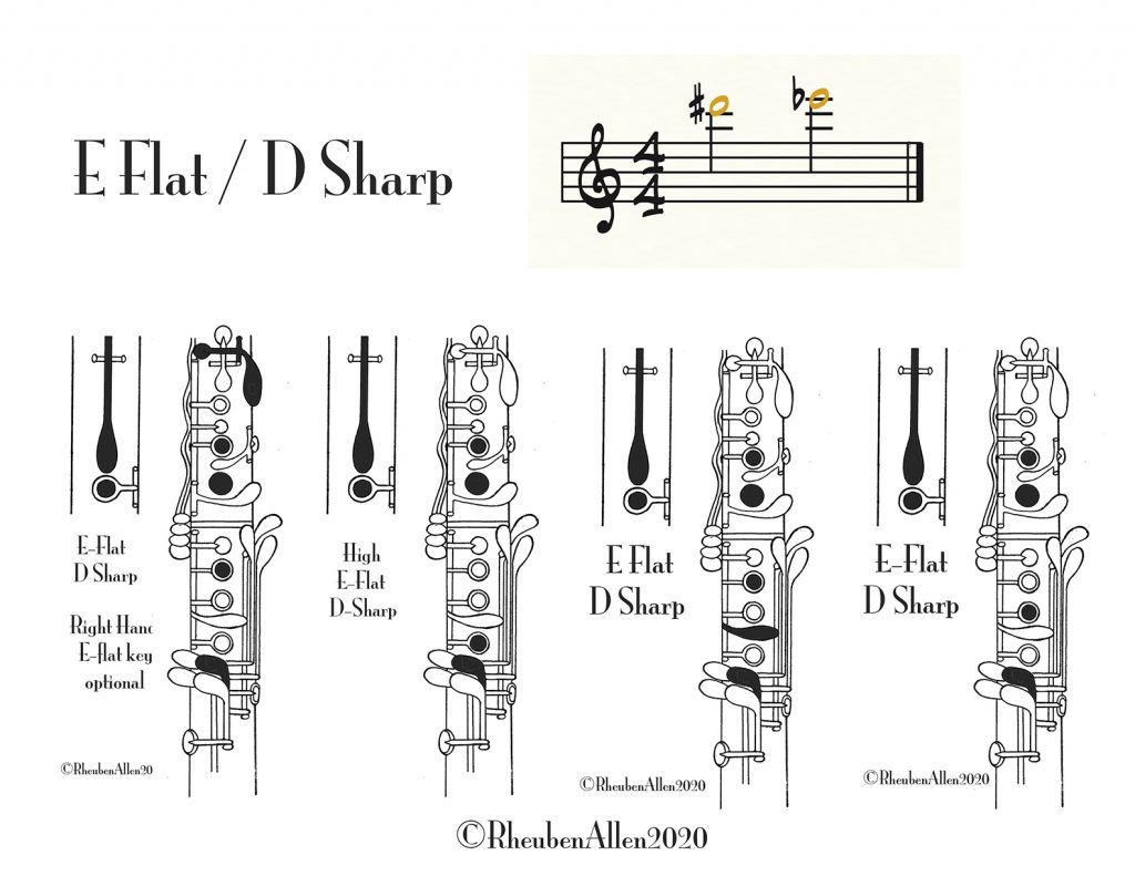 High E-Flat for clarinet