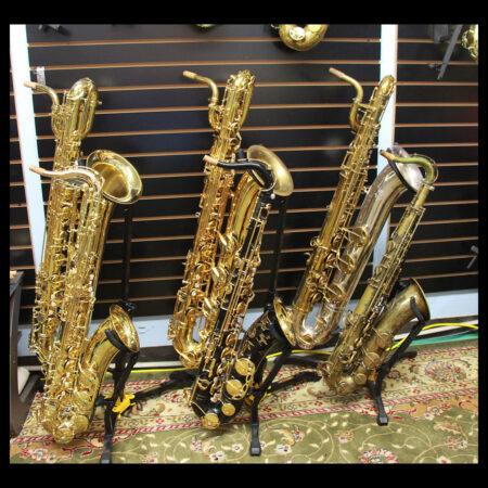 Baritone and Tenoir Saxophone banner