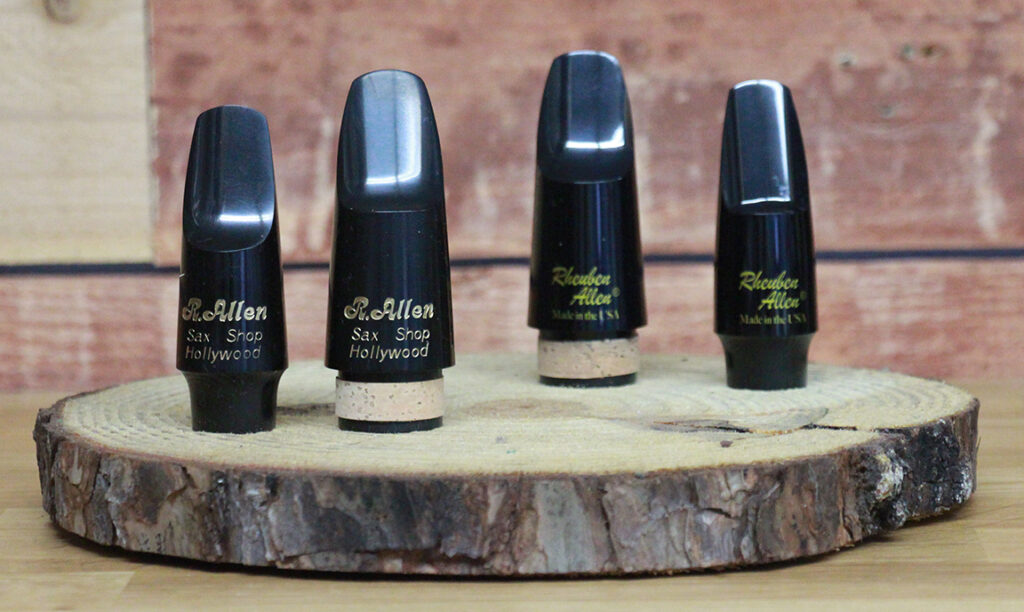 New C-Melody and Bass Clarinet mouthpieces